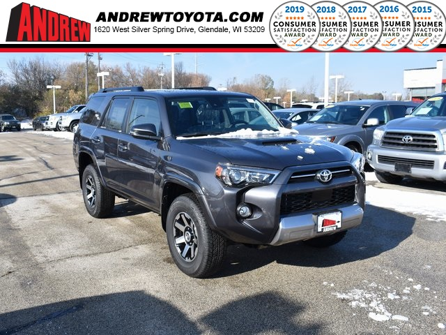 Stock #: 38864 Gray 2020 Toyota 4Runner TRD Off-Road Premium 4D Sport Utility in Milwaukee, Wisconsin 53209