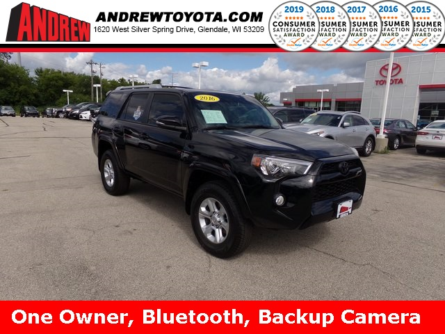 Stock #: 38036A Black 2016 Toyota 4Runner SR5 Premium 4D Sport Utility in Milwaukee, Wisconsin 53209