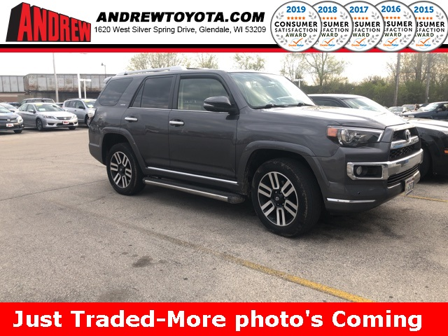 Stock #: 37936A Gray 2014 Toyota 4Runner Limited 4D Sport Utility in Milwaukee, Wisconsin 53209