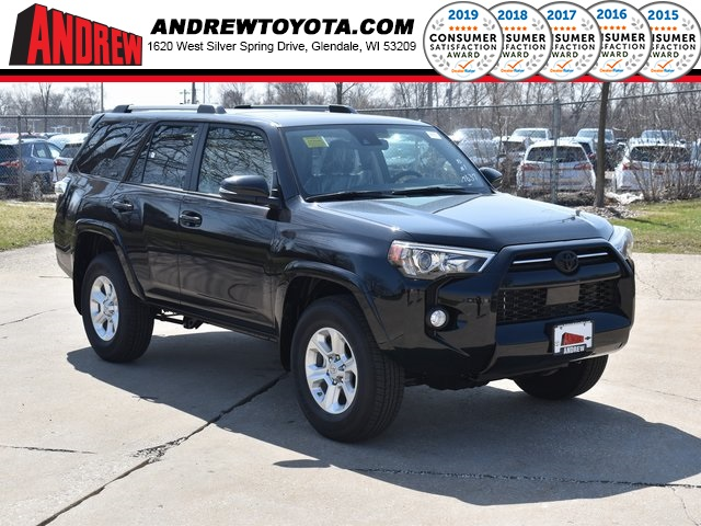 Stock #: 39469 Midnight Black Metallic 2020 Toyota 4Runner SR5 Premium 4D Sport Utility in Milwaukee, Wisconsin 53209