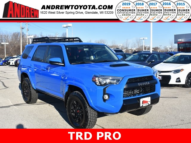 New 2019 Toyota 4Runner TRD Pro With Navigation & 4WD