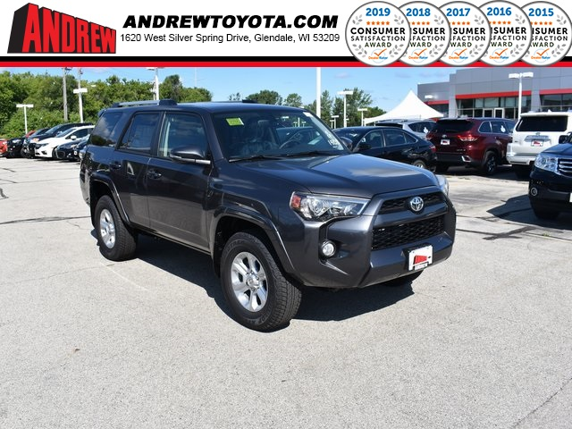 Stock #: 38445 Gray 2019 Toyota 4Runner SR5 Premium 4D Sport Utility in Milwaukee, Wisconsin 53209