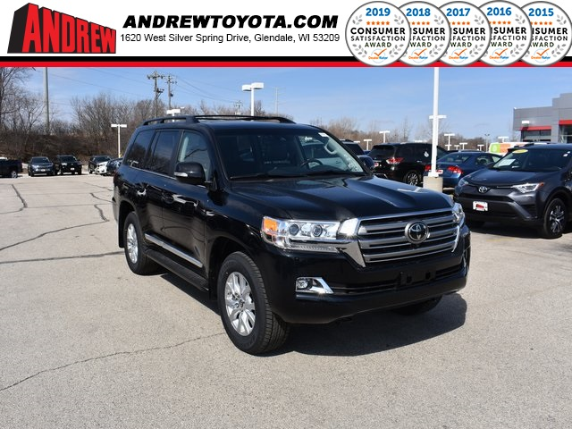 Stock #: 37705 Black 2019 Toyota Land Cruiser Base 4D Sport Utility in Milwaukee, Wisconsin 53209