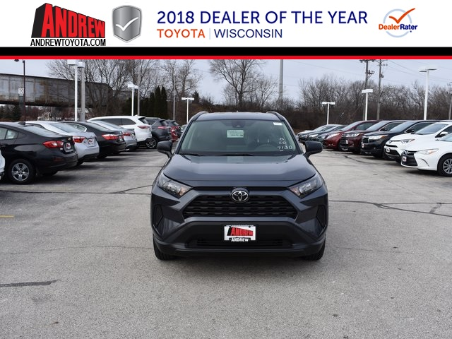 Stock #: 37450 Gray 2019 Toyota RAV4 LE 4D Sport Utility in Milwaukee, Wisconsin 53209