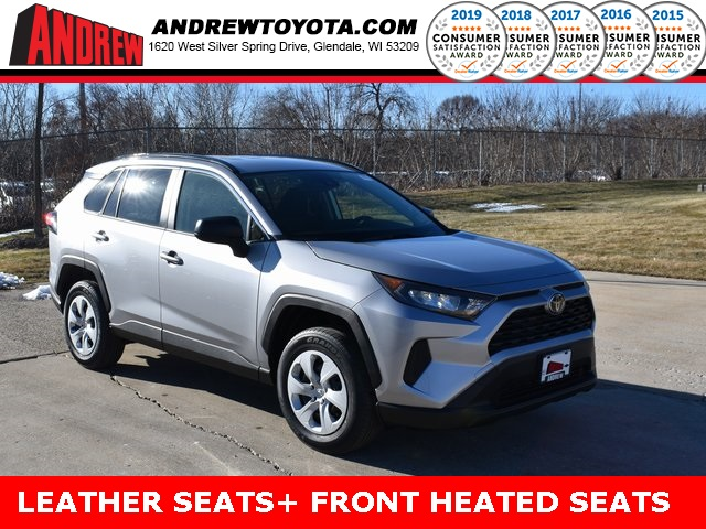 Stock #: 39059 Silver Sky Metallic 2020 Toyota RAV4 LE 4D Sport Utility in Milwaukee, Wisconsin 53209