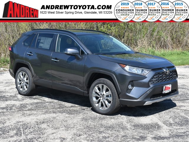 Stock #: 39480 Magnetic Gray Metallic 2020 Toyota RAV4 Limited 4D Sport Utility in Milwaukee, Wisconsin 53209