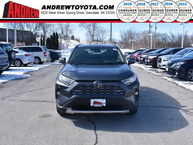 Stock #: 37636 Gray 2019 Toyota RAV4 Limited 4D Sport Utility in Milwaukee, Wisconsin 53209