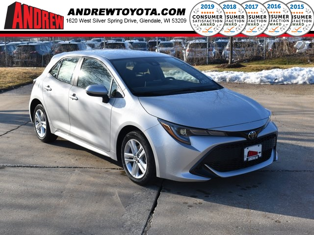 Stock #: 39268 Silver 2020 Toyota Corolla Hatchback SE 5D Hatchback in Milwaukee, Wisconsin 53209
