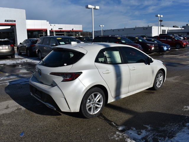 New 2019 Toyota Corolla Hatchback Se 5d Hatchback In Milwaukee