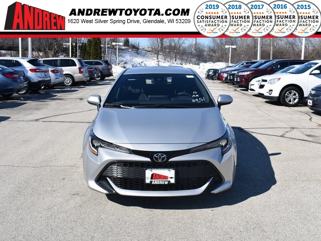 Stock #: 37633 Silver 2019 Toyota Corolla Hatchback SE 5D Hatchback in Milwaukee, Wisconsin 53209
