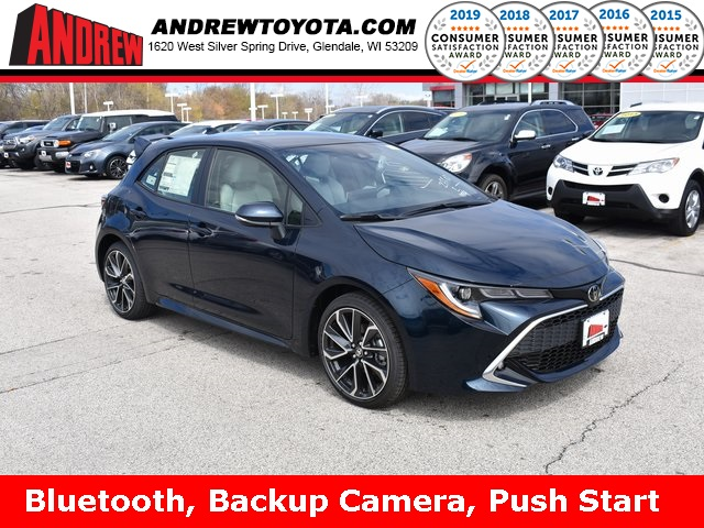 Stock #: 37836 Blue 2019 Toyota Corolla Hatchback XSE 5D Hatchback in Milwaukee, Wisconsin 53209