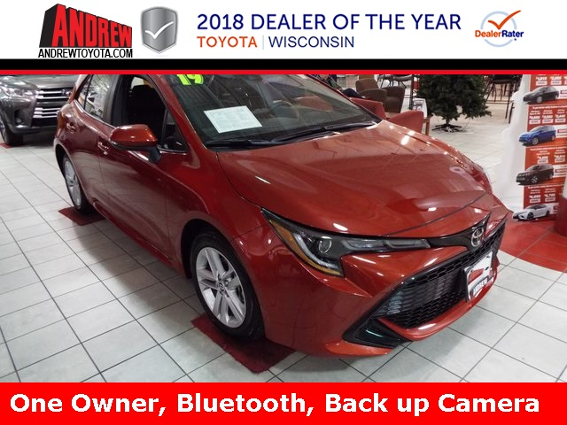 Pre Owned 2019 Toyota Corolla Hatchback Se 5d Hatchback In Milwaukee