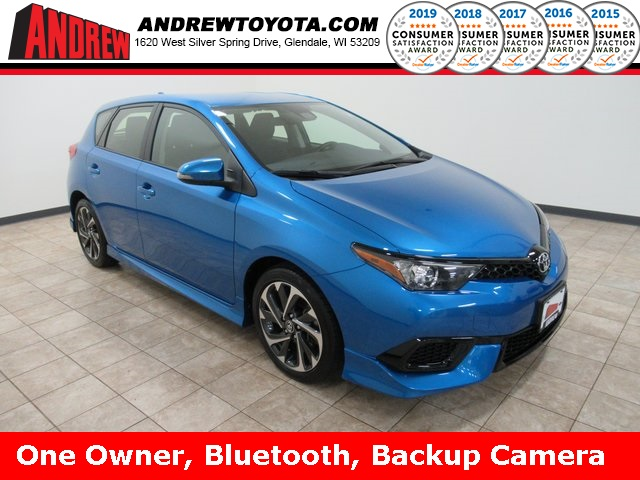 Stock #: 38999A Blue 2017 Toyota Corolla iM Base 5D Hatchback in Milwaukee, Wisconsin 53209