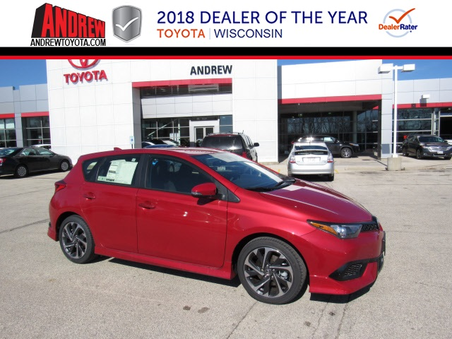 New 2018 Corolla iM Base FWD 5D Hatchback