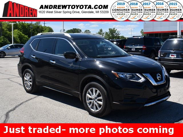Stock #: TP1605 Black 2017 Nissan Rogue SV 4D Sport Utility in Milwaukee, Wisconsin 53209