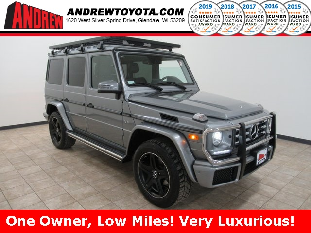 Stock #: 39318A Silver 2018 Mercedes-Benz G-Class G 550 4D Sport Utility in Milwaukee, Wisconsin 53209
