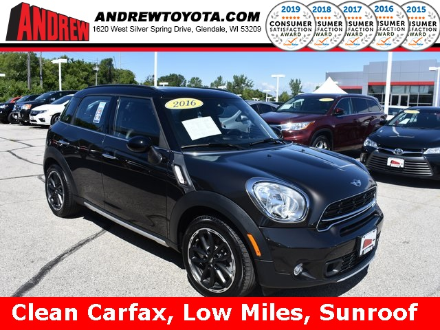 Stock #: TP10012 Black 2016 MINI Cooper S Countryman Base 4D Sport Utility in Milwaukee, Wisconsin 53209