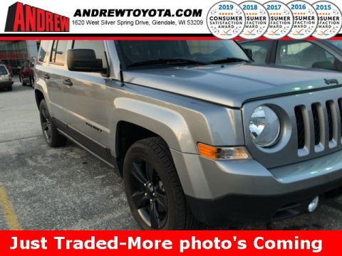 Stock #: 38185A Gray 2015 Jeep Patriot Altitude 4D Sport Utility in Milwaukee, Wisconsin 53209