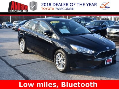 Stock #: TP9542 Black 2017 Ford Focus SE 4D Sedan in Milwaukee, Wisconsin 53209