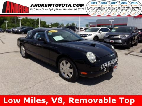 Stock #: 37880A Black 2002 Ford Thunderbird Base 2D Convertible in Milwaukee, Wisconsin 53209