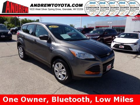 Stock #: 38067B Gray 2013 Ford Escape S 4D Sport Utility in Milwaukee, Wisconsin 53209