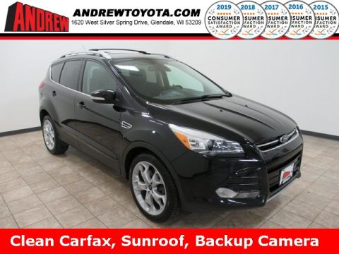 Stock #: KB1241 Gray 2013 Ford Escape Titanium 4D Sport Utility in Milwaukee, Wisconsin 53209