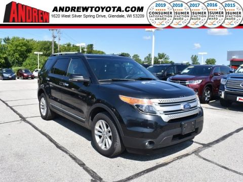 Stock #: TP9914A Black 2012 Ford Explorer XLT 4D Sport Utility in Milwaukee, Wisconsin 53209