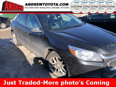 Stock #: 38816A Black 2014 Chevrolet Malibu LT 4D Sedan in Milwaukee, Wisconsin 53209