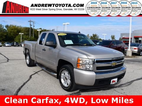 Stock #: 38463B Silver 2008 Chevrolet Silverado 1500 LT Standard Bed in Milwaukee, Wisconsin 53209