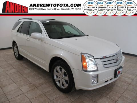 Stock #: TL1286B White 2008 Cadillac SRX V6 4D Sport Utility in Milwaukee, Wisconsin 53209
