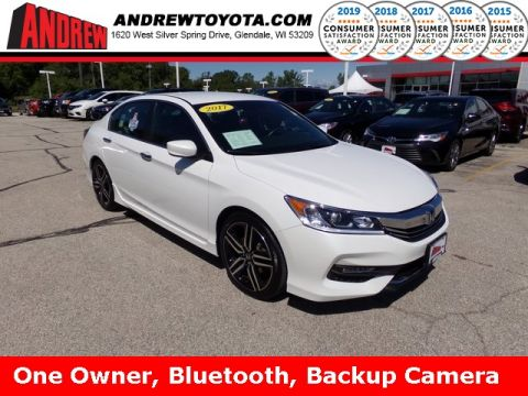 Stock #: 37951A White 2017 Honda Accord Sport Special Edition 4D Sedan in Milwaukee, Wisconsin 53209
