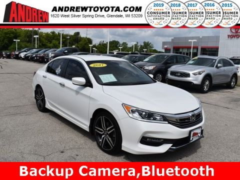 Stock #: 38218A White 2017 Honda Accord Sport Special Edition 4D Sedan in Milwaukee, Wisconsin 53209