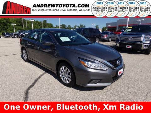 Stock #: 38166A Gray 2016 Nissan Altima 2.5 S 4D Sedan in Milwaukee, Wisconsin 53209