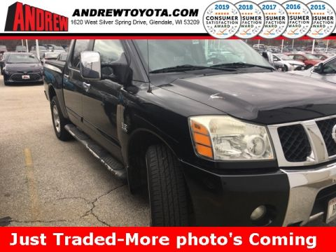 Stock #: 36963A Black 2004 Nissan Titan XE 4D Crew Cab in Milwaukee, Wisconsin 53209
