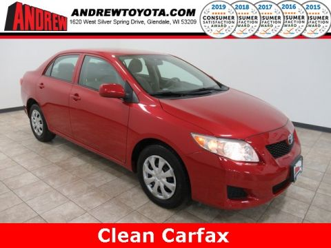 Stock #: TP1058A Red 2010 Toyota Corolla LE 4D Sedan in Milwaukee, Wisconsin 53209