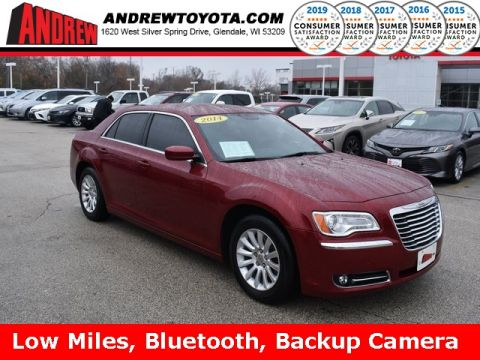 Stock #: TP9600A Red 2014 Chrysler 300 Base 4D Sedan in Milwaukee, Wisconsin 53209