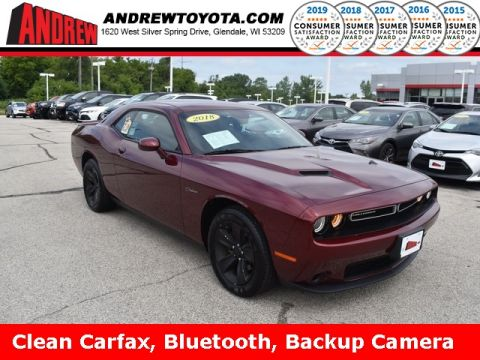 Stock #: 37859A Red 2018 Dodge Challenger SXT 2D Coupe in Milwaukee, Wisconsin 53209