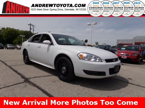 Stock #: 37055A White 2016 Chevrolet Impala Limited Police 4D Sedan in Milwaukee, Wisconsin 53209
