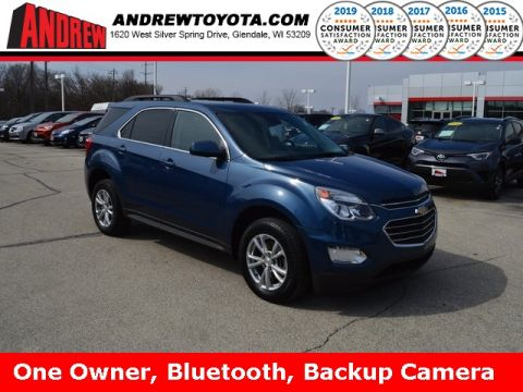 Stock #: TP9704 Blue 2016 Chevrolet Equinox LT 4D Sport Utility in Milwaukee, Wisconsin 53209