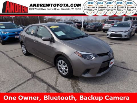 Stock #: TP9799 Brown 2016 Toyota Corolla LE ECO 4D Sedan in Milwaukee, Wisconsin 53209