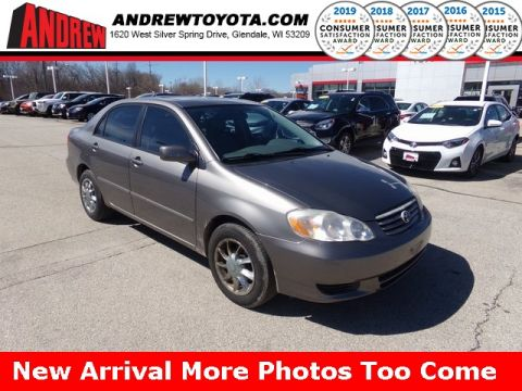 Stock #: TP9753A Gray 2004 Toyota Corolla LE 4D Sedan in Milwaukee, Wisconsin 53209