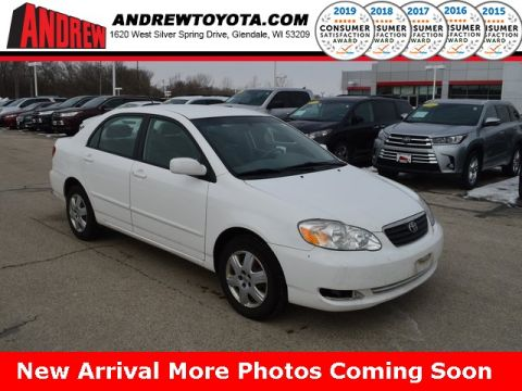 Stock #: TP9687A White 2007 Toyota Corolla LE 4D Sedan in Milwaukee, Wisconsin 53209