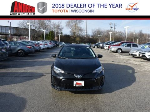Stock #: 37218 Black 2019 Toyota Corolla SE 4D Sedan in Milwaukee, Wisconsin 53209