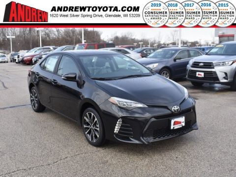 Stock #: 37667 Black 2019 Toyota Corolla SE 4D Sedan in Milwaukee, Wisconsin 53209