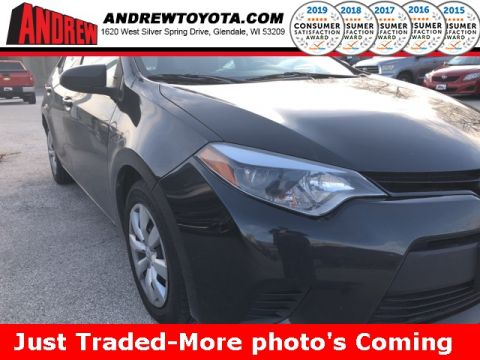 Stock #: 38857B Black 2014 Toyota Corolla LE 4D Sedan in Milwaukee, Wisconsin 53209