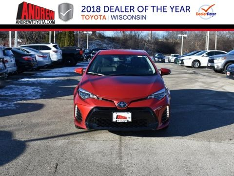 Stock #: 37415 Red 2019 Toyota Corolla SE 4D Sedan in Milwaukee, Wisconsin 53209