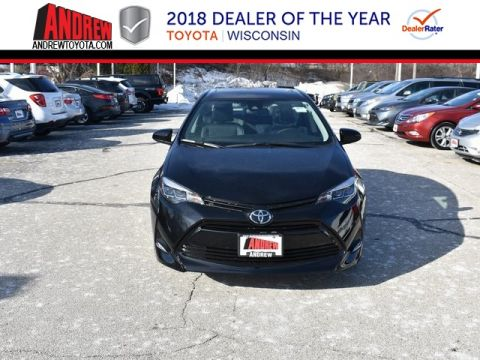 Stock #: 37537 Black 2019 Toyota Corolla XLE 4D Sedan in Milwaukee, Wisconsin 53209