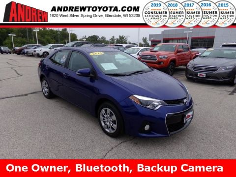 Stock #: 38547A Blue 2016 Toyota Corolla S 4D Sedan in Milwaukee, Wisconsin 53209