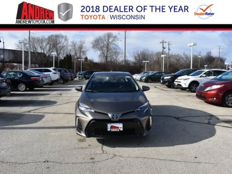 Stock #: 37432 Gray 2019 Toyota Corolla SE 4D Sedan in Milwaukee, Wisconsin 53209