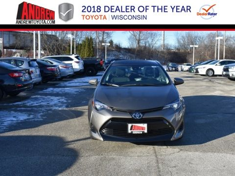 Stock #: 37393 Gray 2019 Toyota Corolla LE 4D Sedan in Milwaukee, Wisconsin 53209